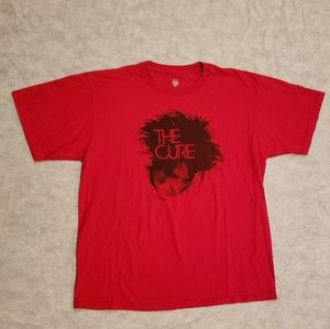Vintage Y2K The Cure 80s Rock Band Rocktee